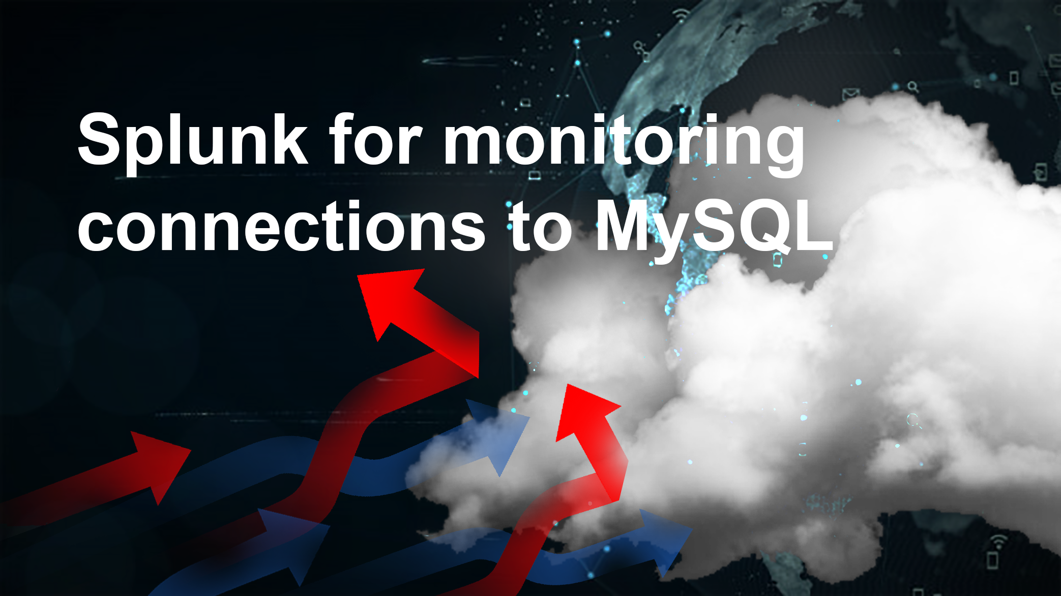 Forwarding MySQL log file in AWS to Splunk: monitoring connections