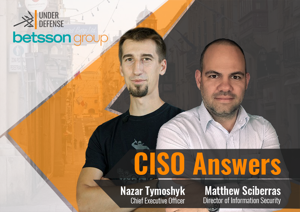 CISO Answers – Interview with Matthew Sciberras