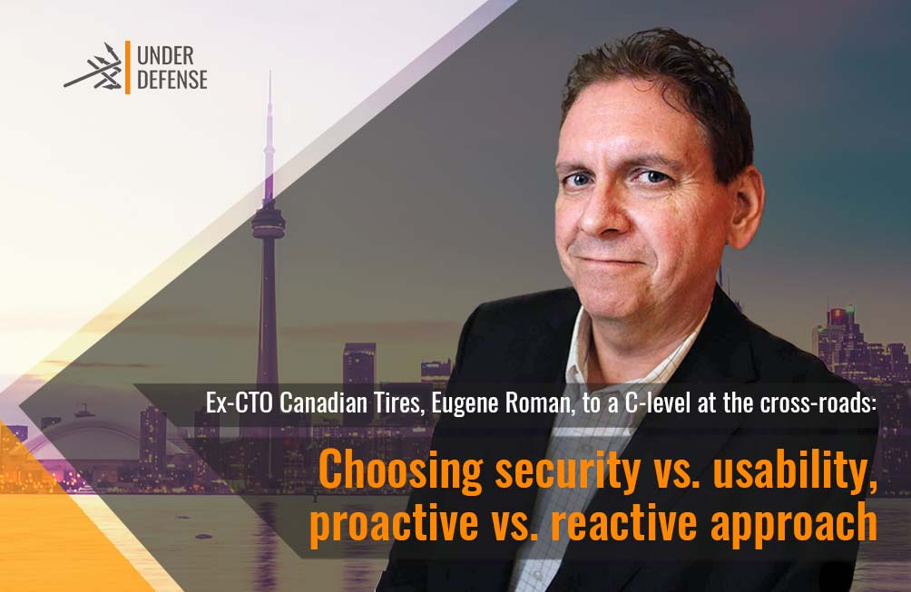 Eugene Roman to a C-level at the cross-roads: choosing security vs. usability