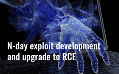 N-day exploit development and upgrade to RCE