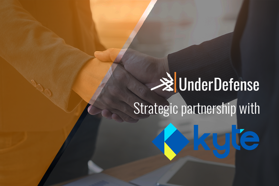 Strategic partnership between UnderDefense and Kyte Global