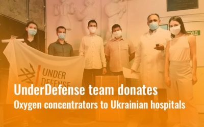 Battling offline viruses: UnderDefense team donates oxygen concentrators to Ukrainian hospitals