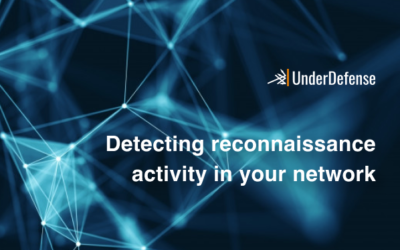 Detecting reconnaissance activity in your network